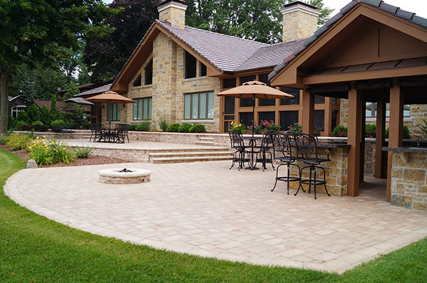 Landscaping Patios, Paths, Firepits, and Retaining Walls in Appleton, WI