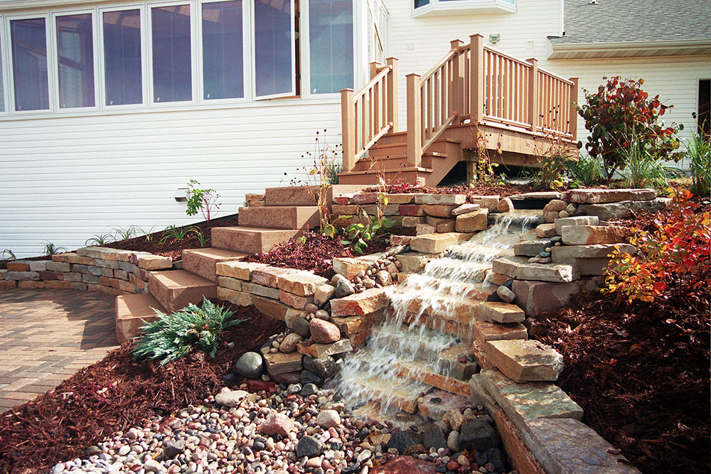Landscaping Outdoor Water Features, Falls, Fountains, and Ponds in Appleton, WI