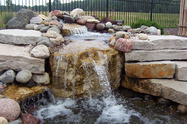Landscaping Water Features, Ponds, and Waterfalls in the Fox Cities, WI