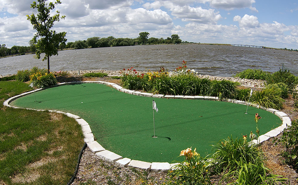 Synthetic Turf Putting Green Turf In Appleton Wisconsin