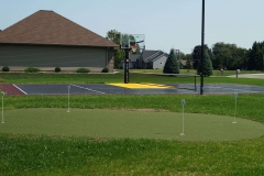 Putting Green and Basketball Court near Grand Chute, WI