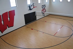 Indoor Basketball Court in Northeast, Wisconsin