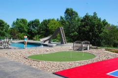 Putting Green and Multi-Purpose Court in Appleton, WI