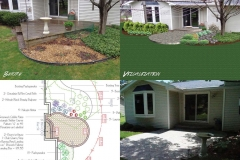 Before and After Landscaping in the Fox Valley