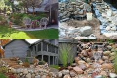 Before and After Landscaping in Appleton, WI
