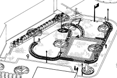 Commercial Landscaping Construction and Architectural Design Blueprint in Wisconsin
