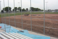 Commercial Landscaping Construction and Baseball Diamond in Oshkosh, WI
