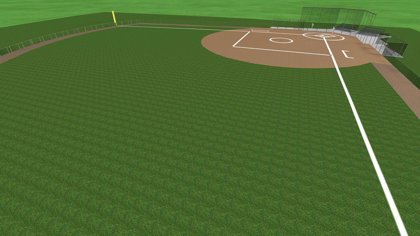Commercial Landscaping Construction and Baseball Diamond in Appleton   Wisconsin. Landscaping and Commercial Construction Portfolio in Wisconsin