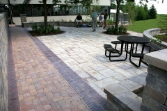 Commercial and Municipal Landscaping Communal Area in Appleton, WI