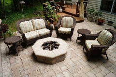 Landscaping Fire Pit in Appleton, WI