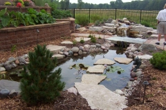 Landscaping Waterfall and Pond Feature in Green Bay, WI