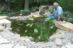 Landscaping Waterfall and Pond Feature in Kimberly, WI