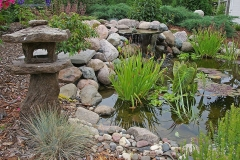 Landscaping Waterfall and Pond Feature in Appleton, WI