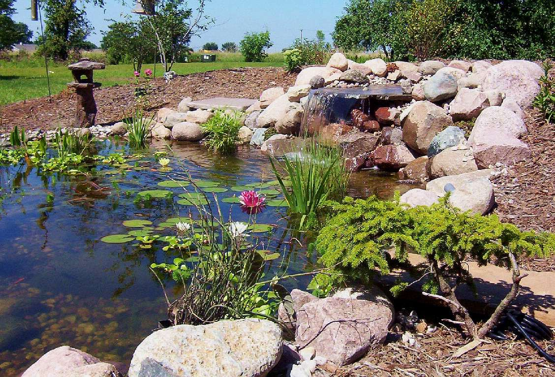 Outdoor Water Features Falls Fountains And Ponds Appleton