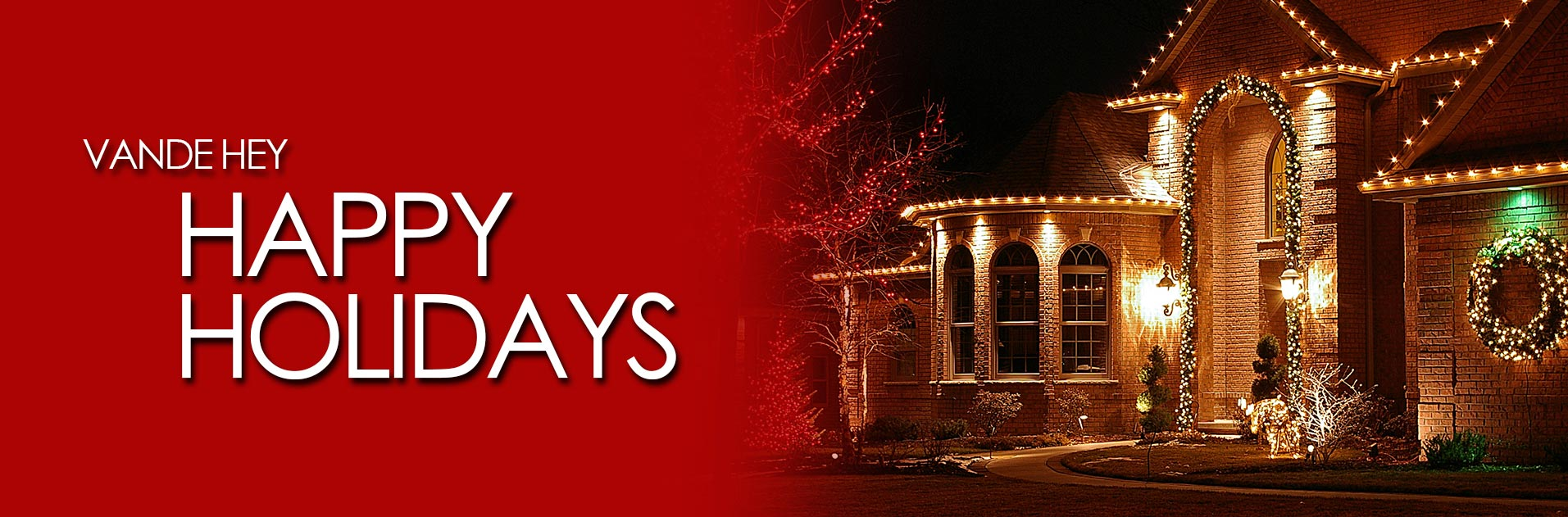 Holiday Lighting Services from Vande Hey Company in Appleton, Wisconsin