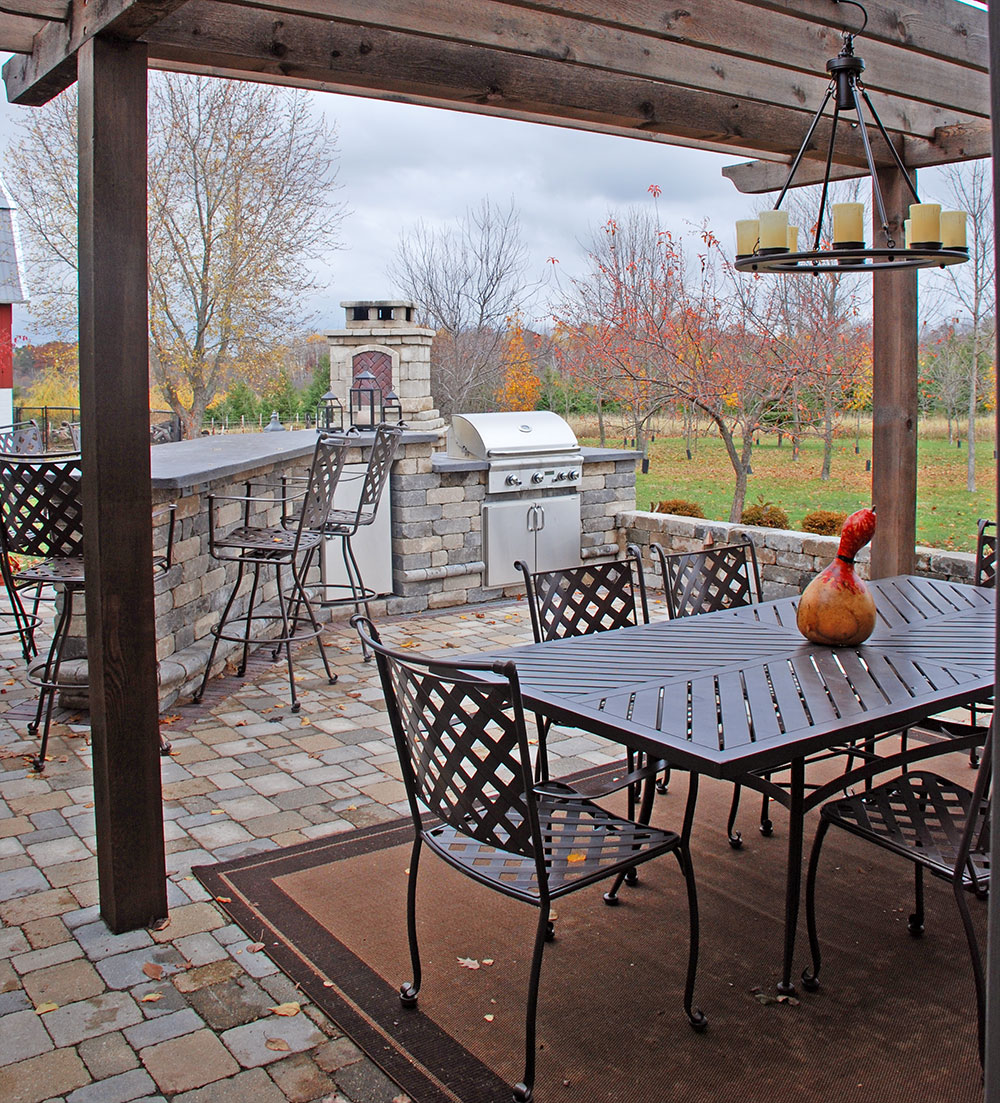 Backyard Kitchen Garden Design: Outdoor Kitchens And Landscape Design In The Fox Cities