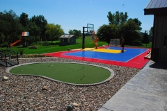 Vande Hey Company Putting Green and Multi-Purpose Court