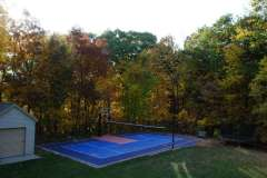 Outdoor Multipurpose Volleyball Court in Kaukauna, WI