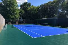 Multipurpose Outdoor Tennis Courts