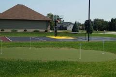 Putting Green and Basketball Court near Grand Chute, WI