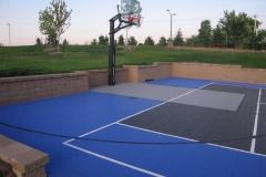 Multi-Purpose Outdoor Sports Court in Northeast, Wisconsin