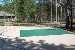 Vande Hey Company Outdoor Basketball Court