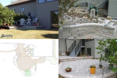 Vande Hey Company Before and After Landscaping
