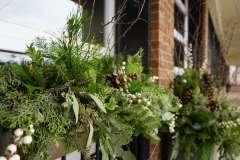 Custom Made Evergreen Planters for Businesses