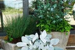 Custom Designed Flower Arrangements for Business Entrances in Green Bay, WI