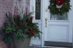 Holiday Planter Ideas for the Front Porch