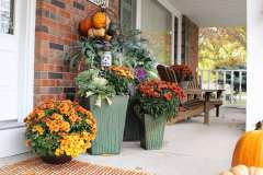 Exterior Fall Flowering Arrangements near Appleton, WI