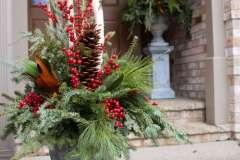 Holiday Exterior Arrangement
