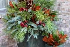 Custom Winter Planters in Northeast WI