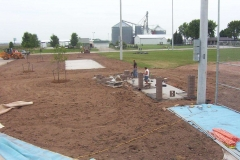Commercial Landscaping Construction and Athletic Field in Wisconsin