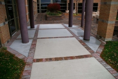 Commercial Landscaping Construction and Courtyard in Wisconsin