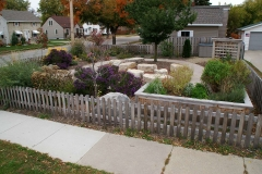 Commercial and Municipal Landscaping Community Garden in Wisconsin