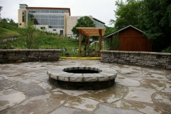 Commercial and Municipal Landscaping Firepit near Green Bay, WI