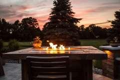 Bar Height Fire Table Near Appleton, WI