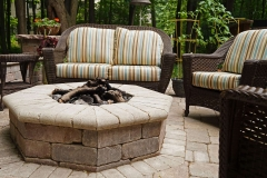 Landscaping Firepit in Neenah, WI