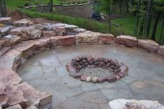 Landscaping Firepit in Menasha, WI