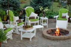Outdoor Furniture and Chairs with Cushions