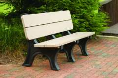 Park Bench made from Recycled Materials