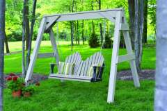 Outdoor Swing Made from Recycled Materials