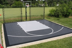 Outdoor Basketball Court Near Appleton, WI
