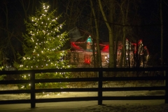 Holiday lighting project in Northeast Wisconsin