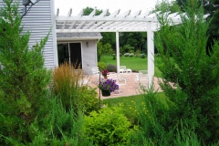 Pergola Attached to Home in Northeast, WI