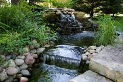 Outdoor Water Feature Design Near Neenah, WI