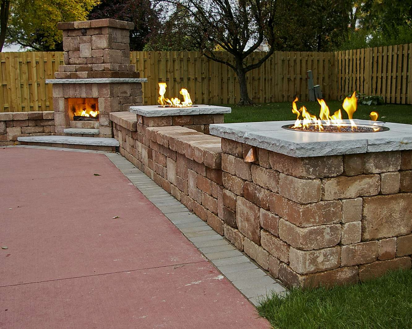 Outdoor Fireplace Landscaping Design in Appleton, WI on Outdoor Fireplaces Ideas id=15626
