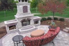 Outdoor Fireplace Design in Kaukauna, WI