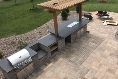 Outdoor Grilling Space with Cabinets Near Little Chute, WI